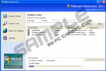 Malware Destructor 2011